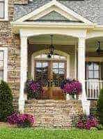 There are many factors that go into picking a front door - style, material, how much glass and more